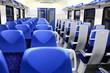 Interior of wagon train