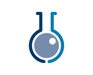 lab logo template v.e