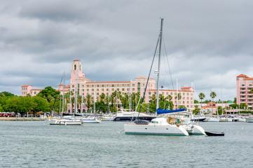 City marina
