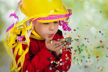 Kind als Feuerwehrmann
