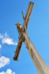 croce di legno