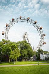 Ferris wheel in Prater - Vienna, Austria