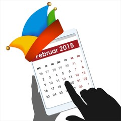 Weiberfastnacht Rosenmontag Faschingsdienstag 2015 Kalender