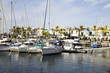 canvas print picture - Hafen Gran Canaria