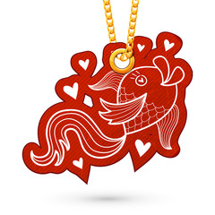Fish and hearts.