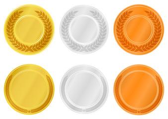 メダルのイラスト素材
