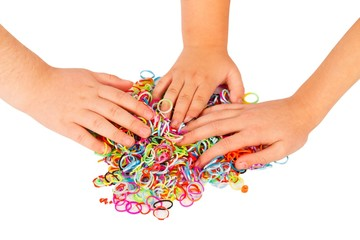 Playing With Loom Bands