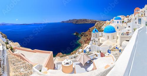 Leinwandbild Motiv Greece Santorini