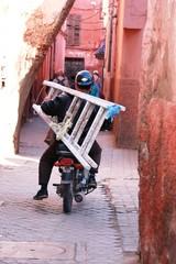 Transportwege in Marokko