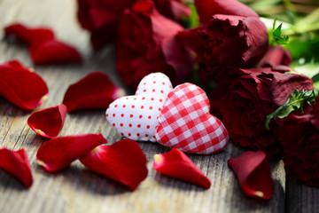 Blumenstrauß Herz