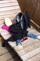 schlafendes Kind - Erholung / Pause