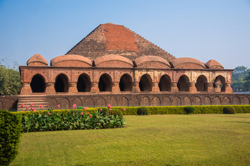 Rasmancha temple in Bishnupur, West Bengal, India