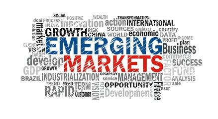 emerging markets word cloud