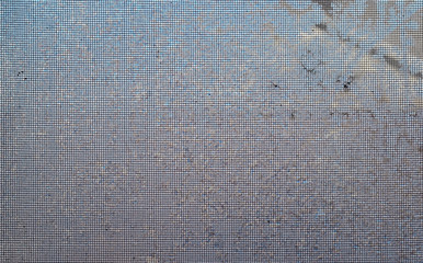 Frosted Window Screen Background