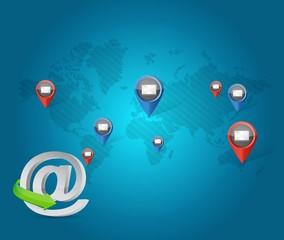 internet media communication network