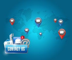 contact us media communication network