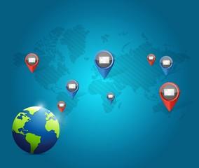 globe media communication network
