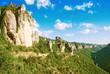 Leinwandbild Motiv Les falaises des Gorges du Tarn
