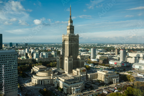 Fototapeta Warsaw Palace of Culture and Science