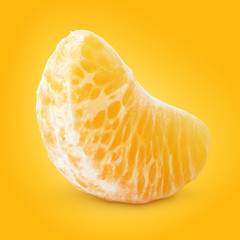Slice of mandarin orange (tangerine) - citrus fruit