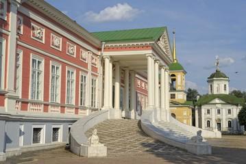 Grand Palace in museum-estate Kuskovo