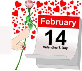 14 febbraio, un giorno pieno d'amore