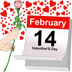 February 14, a day full of love