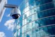 Leinwandbild Motiv Security CCTV camera in office building