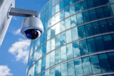 Security CCTV camera in office building - 75854173