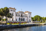Miami Vizcaya museum at waterfront poster