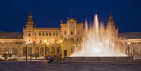 Seville - Plaza de Espana square