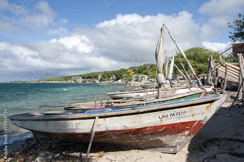canvas print picture Hafen, Môle Saint Nicolas, Haiti