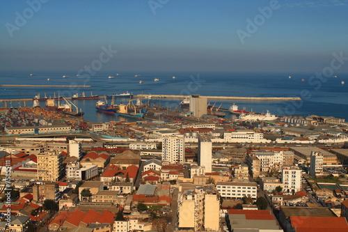 Tuinposter Algerije Port d'Alger, Algérie