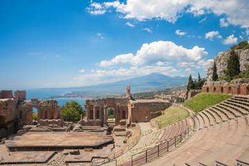 Taormina's theater