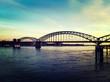 Rheinbrücke in Köln, Zollhafen