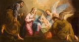 Vienna - Nativity paint in presbytery of Salesianerkirche - 75855744