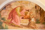 Vienna - The comeback of Prodigal son fresco - 75856588