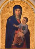 Vienna - The Madonna paint in church Muttergotteskirche