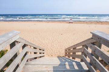 Entrance to Atlantic beach