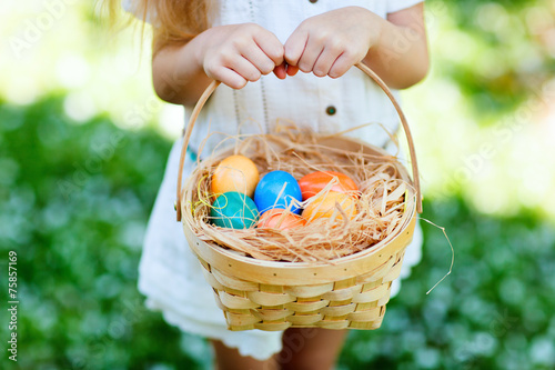 Colorful Easter eggs - 75857169