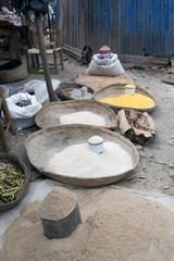 Marktszene, Deschapelles, Haiti