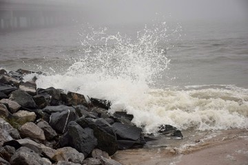Nor'easter on the Rocks