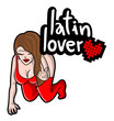 Latin lover woman