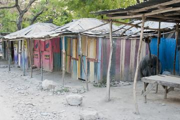 Holzhütten, Korridor Deschapelles, Haiti