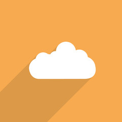 weather web flat icon.