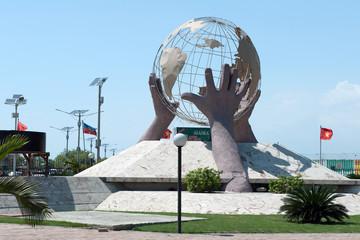 Denkmal in Port-au-Prince, Haiti