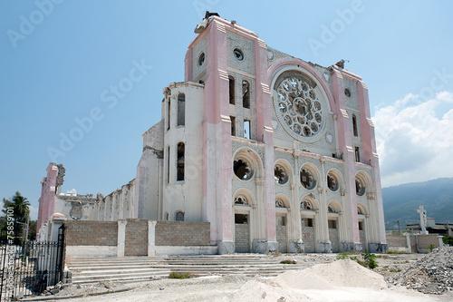 Cathédrale Notre-Dame de L'Assomption, Port-au-Prince, Haiti