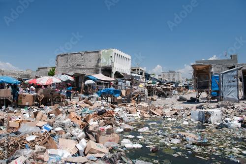 Downtown Port-au-Prince, Haiti - 75859156
