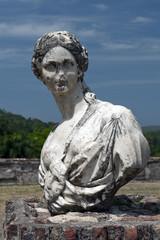 Büste Marie-Louise Coidavid, Palais Sans-Souci, Milot, Haiti