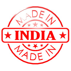 Made in India red seal